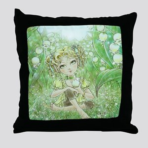 Arrival of Spring Throw Pillow