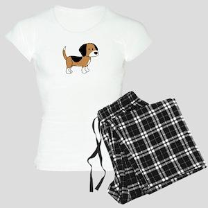Cute Beagle Women's Light Pajamas