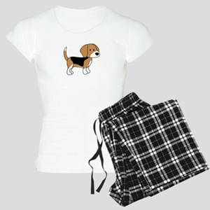 Cute Beagle Women's Light Pajamas