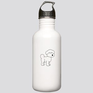 Cute Bichon Stainless Water Bottle 1.0L