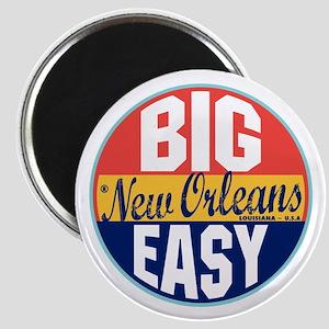 New Orleans Vintage Label Magnet