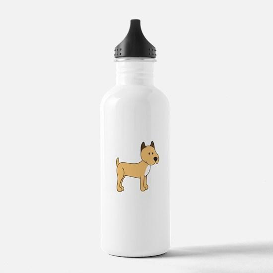 Cute Boxer Water Bottle