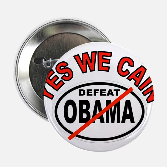 """YES WE CAIN WIN 2.25"""" Button (10 pack)"""