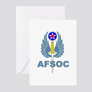 AFSOC (1) Greeting Cards (Pk of 10)