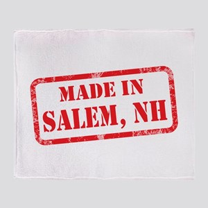 MADE IN SALEM, NH Throw Blanket