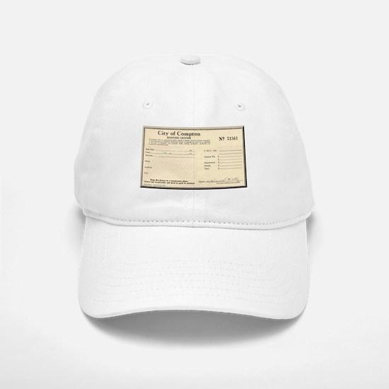 Compton Business License Baseball Baseball Cap
