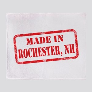 MADE IN ROCHESTER, NH Throw Blanket