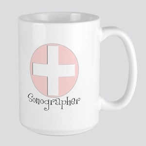 Sonographer Large Mug