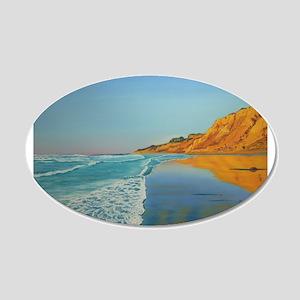 Reflection 22x14 Oval Wall Peel