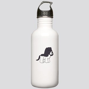 Cute Cocker Spaniel Stainless Water Bottle 1.0L
