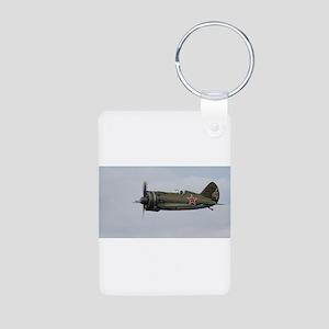 Polikarpov I-16 Aluminum Photo Keychain