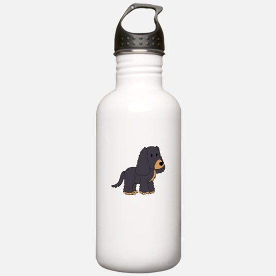 Cute Cocker Spaniel Water Bottle