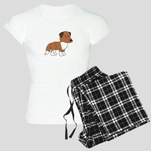 Cute Collie Women's Light Pajamas