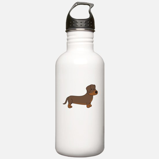 Cute Dachshund Water Bottle