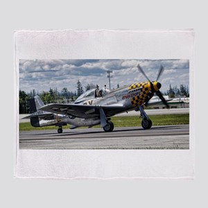 P-51 Throw Blanket