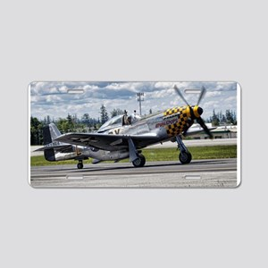 P-51 Aluminum License Plate