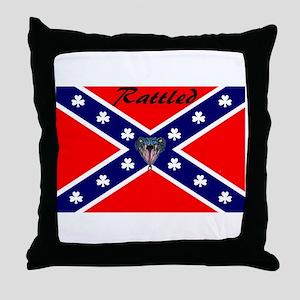 hillbilly logo Throw Pillow