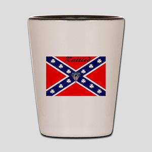 hillbilly logo Shot Glass
