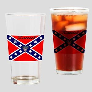 hillbilly logo Drinking Glass