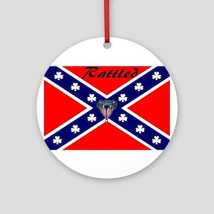 hillbilly logo Ornament (Round)
