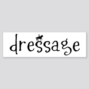 dressage Bumper Sticker
