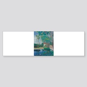 Balboa Park Pond Sticker (Bumper)
