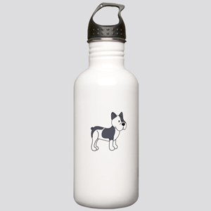 Cute French Bulldog Stainless Water Bottle 1.0L