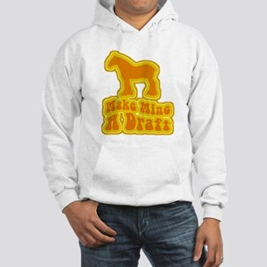 Make Mine A Draft -retro- Hooded Sweatshirt