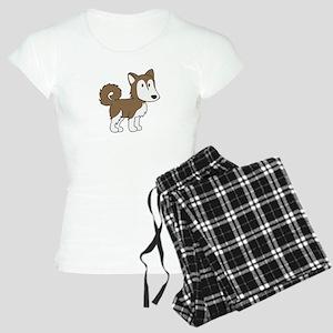 Cute Husky Women's Light Pajamas
