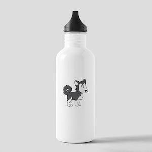Cute Husky Stainless Water Bottle 1.0L