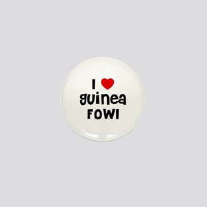 I * Guinea Fowl Mini Button