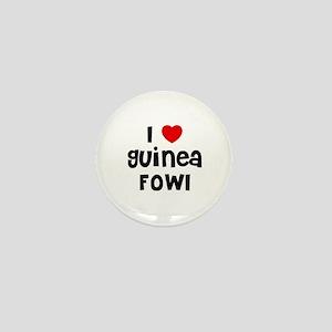I * Guinea Fowl Mini Button