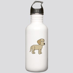 Cute Labrador Stainless Water Bottle 1.0L