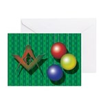 Ornaments Greeting Cards (Pk of 10)