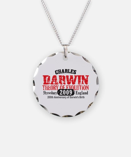 Charles Darwin Necklace