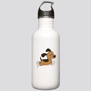 Cute Puppy Stainless Water Bottle 1.0L