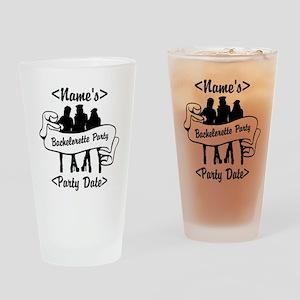 Custom Bachelorette Party Drinking Glass