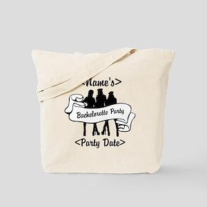 Custom Bachelorette Party Tote Bag