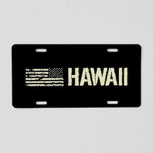 Black Flag: Hawaii Aluminum License Plate