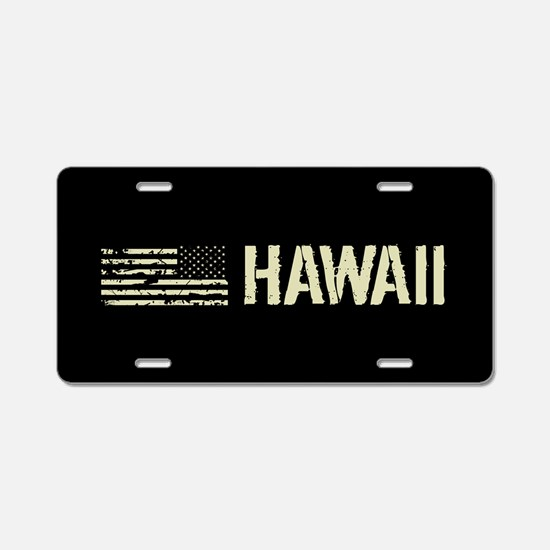 Black Flag: Hawaii Aluminum License Plate
