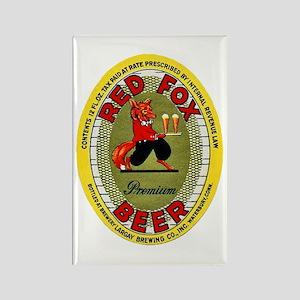 Connecticut Beer Label 2 Rectangle Magnet