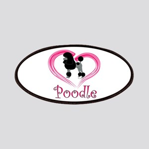 Heart My Poodle Patches