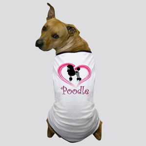 Heart My Poodle Dog T-Shirt
