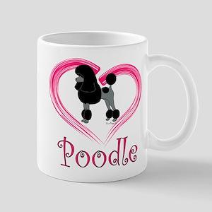 Heart My Poodle Mug