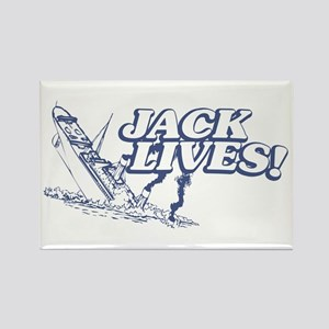 """""""Jack Lives!"""" Rectangle Magnet"""
