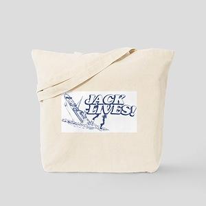 """""""Jack Lives!"""" Tote Bag"""