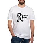Melanoma Awareness Fitted T-Shirt