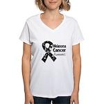 Melanoma Awareness Women's V-Neck T-Shirt