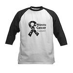 Melanoma Awareness Kids Baseball Jersey