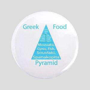 """Greek Food Pyramid 3.5"""" Button"""